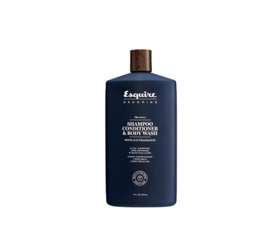 Esquire Grooming 3in1 The Şampuan Krem Body Wash 3'ü Bir 414ml 633911777930