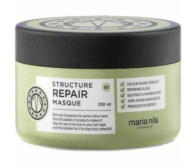 Maria Nila Structure Repair Masque Onarıcı Maske 250ml 7391681036024