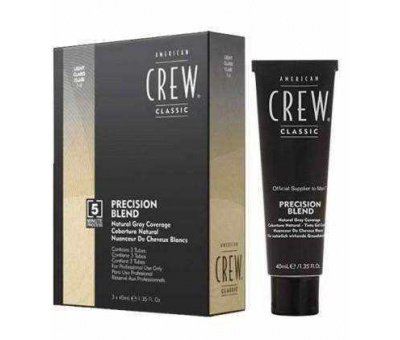 American Crew Precision Blend Light (7-8) 3x40 ml