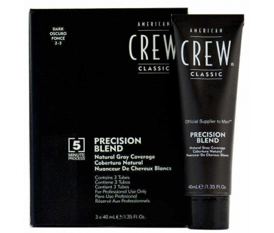 American Crew Precision Blend Dark (2-3) 3x40 ml