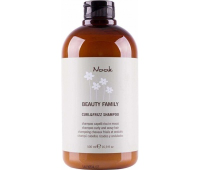 Nook Beauty Family Curl & Frizz Shampoo 500ml / Şampuan 8033171862643