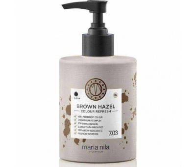 Maria Nila Colour Refresh 7.03 Brown Hazel Pigment Maske 300ml 7391681037014