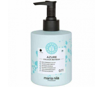 Maria Nila Colour Refresh 0.11 Azure Pigment Maske 300ml 7391681037076
