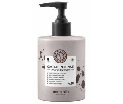 Maria Nila Colour Refresh 4.10 Cacao Intense Pigment Maske 300ml 7391681037076