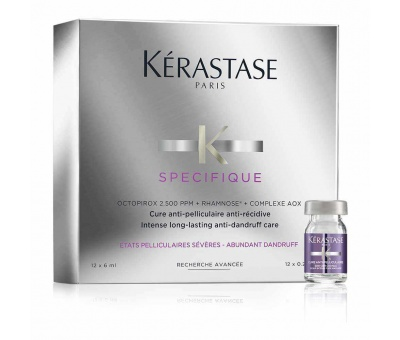 Kerastase Specifique Cure Anti Pelliculaire Saç Serumu 12X6ml 3474636397532