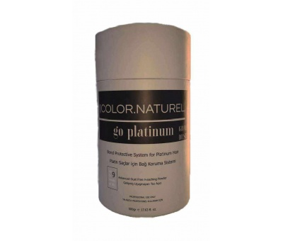 Color Naturel Go Platinum Grey Dust Gri Saç Açıcı 500gr 8699300210879