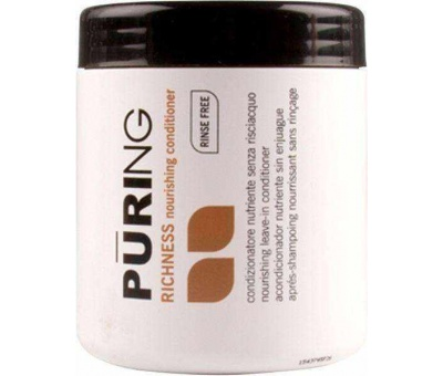 Puring Richness Nourishing Rinse Free Saç Kremi 1000ml 8033171867211