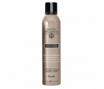 Nook Magic Arganoil Restructuring Fixing Köpük 250ml 8033171865378
