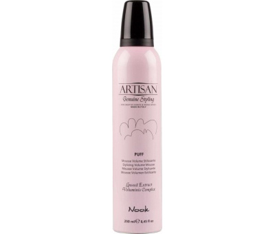 Nook Artisan Puff Styling Volume Mousse Köpük 250ml 8033171813119
