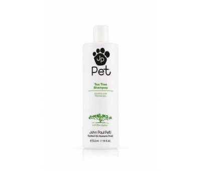 John Paul Pet Tea Tree Kedi & Köpek Şampuanı 473.2ml 876065100128