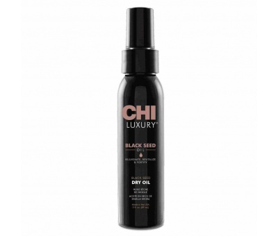 Chi Luxury Black SeedOil Dry Oil Kuru Saç Yağı 89ml 633911788189
