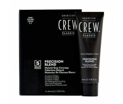 American Crew Precision Blend Dark (2-3) 3x40ml 738678248355
