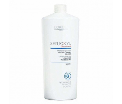 Loreal Serioxyl Gluco Boost Coloured Step 1 Şampuan 1000ml 3474630643932