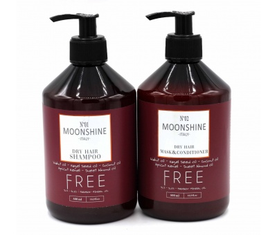 Moonshine Dry Shampoo 500ml & Conditioner 500ml 2'li Set 8680348119910