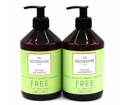 Moonshine Repair Shampoo 500ml & Conditioner 500ml 2'li Set 8680348119279